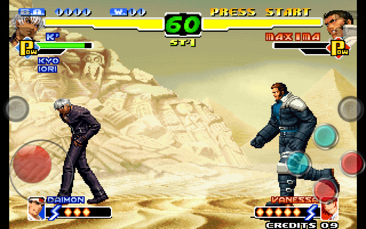 The King Of Fighters 2000 Sin Emulador Estilo Android